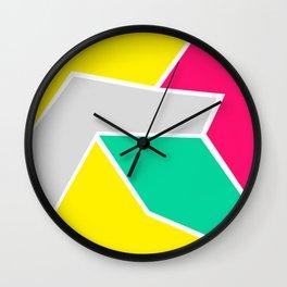 Modern Cubism 01 Wall Clock