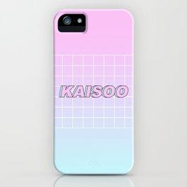 KAI SOO #1 iPhone Case