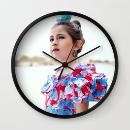 Carlita Sevillana Wall Clock