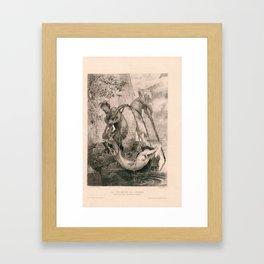 Les Pecheurs De Sirenes Framed Art Print