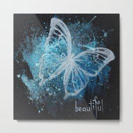 """Beauty"" Metal Print"