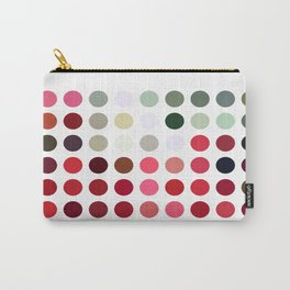 Mixed color Poinsettias 3 Dots Carry-All Pouch