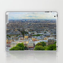 Paris From The Sacre Coure Laptop & iPad Skin