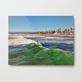 Surf Air Metal Print