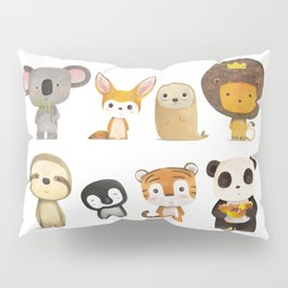 Mr. Lion & His Friends Pillow Sham