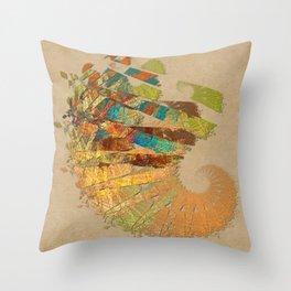 Sliced Cornucopia 131213 Throw Pillow
