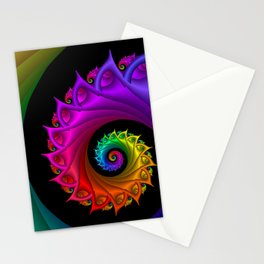 life is colorful -3- Stationery Cards