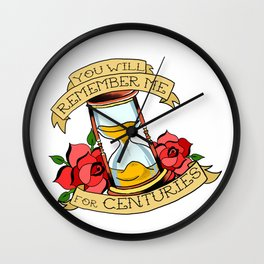 Centuries Wall Clock
