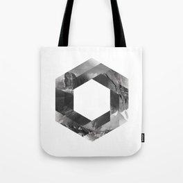 Optical landscape Tote Bag