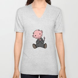 Le Petit Diable Unisex V-Neck