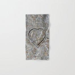 Stone Heart Hand & Bath Towel