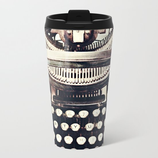 aging gracefully Metal Travel Mug