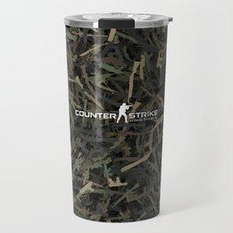 Counter strike weapon camouflage Travel Mug