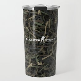 Counter strike weapon camouflage Travel Mug