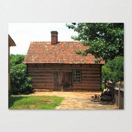 Winston-Salem, NC - Old Salem Cottage 2009 Canvas Print