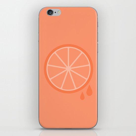 #51 Orange iPhone & iPod Skin