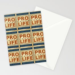 Pro Life Billboard Stationery Cards