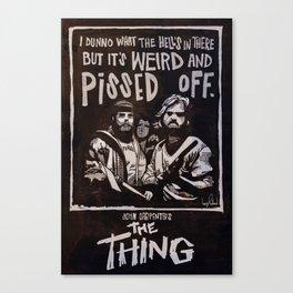 John Carpenter's The THING Canvas Print