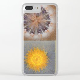 Sarcophagi Woof Flowers  ID:16165-112239-34720 Clear iPhone Case