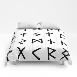 Viking Runes Comforters
