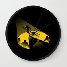 Endless Chase Wall Clock