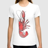 lobster T-shirts featuring Lobster by Carl Christensen