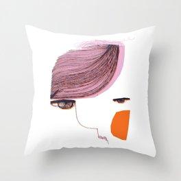 Nuda_2 Throw Pillow