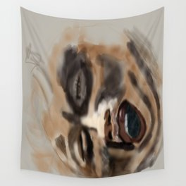 the screamer Wall Tapestry