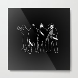 The Slashers! Metal Print
