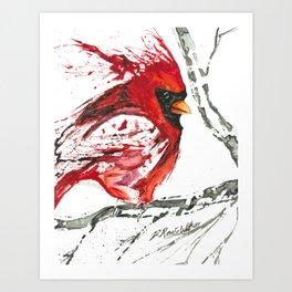 Cardinal Direction Art Print