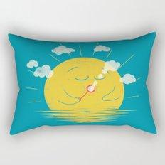 Partly Cloudy Rectangular Pillow