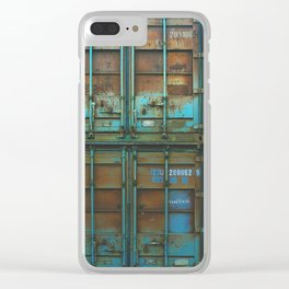 Steel Works Stacked Clear iPhone Case