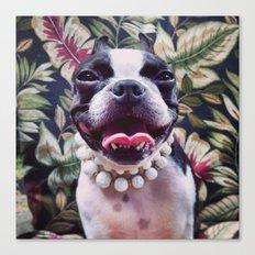 My best Barbara Bush look Canvas Print