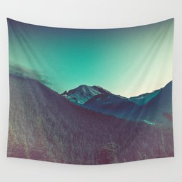 Mt. Olympus in Olympic National Park Wall Tapestry