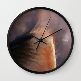 detail, kitty Wall Clock