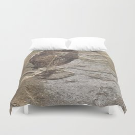 Nature - Leaf of our Past Duvet Cover