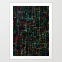 matrix Art Prints featuring Matrix by Jacqueline Maldonado