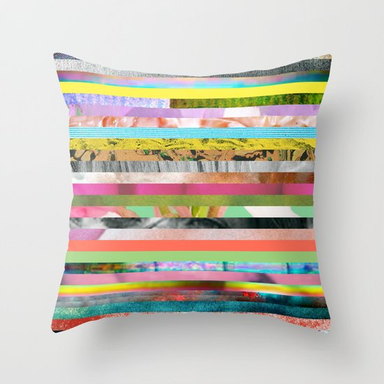 Forced Labor Throw Pillow