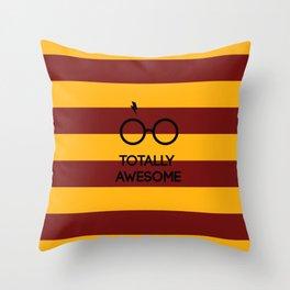 TOTALLY AWESOME! Throw Pillow