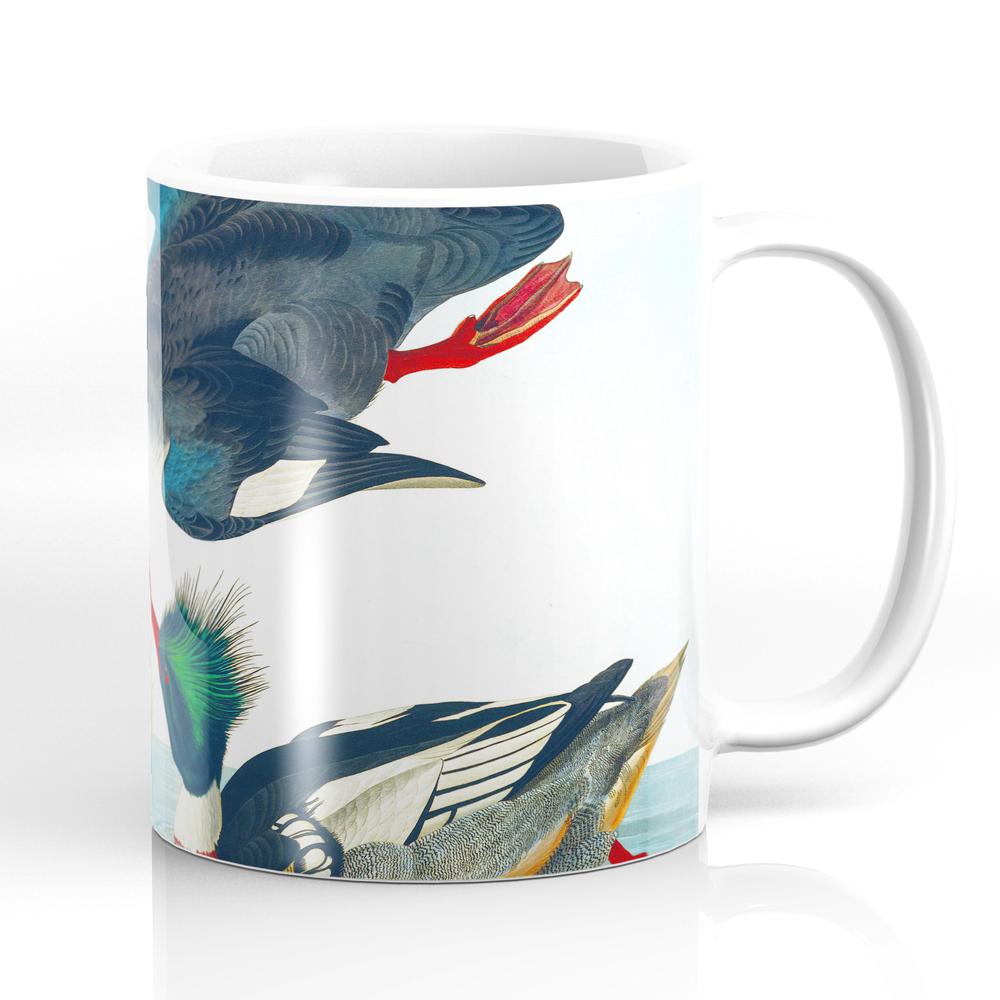 Red-Breasted Merganser Bird Mug by enshape (MUG6419407) photo