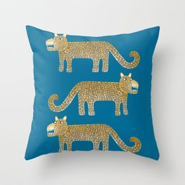 Jaguar Evenings Throw Pillow