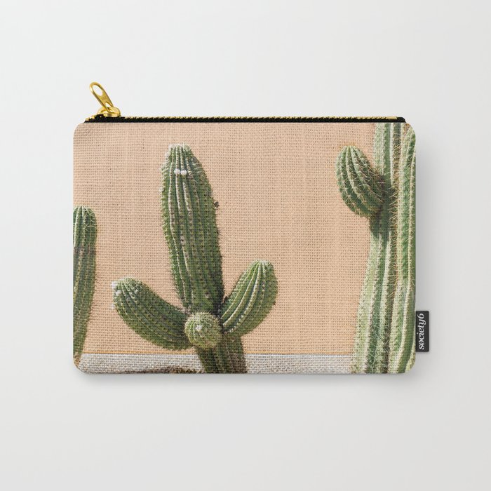 Pastel Cactus II Carry-All Pouch