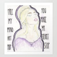 artpop Art Prints featuring ARTPOP by Christopher DeSapio