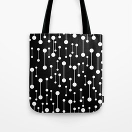 Perfectly Balanced In Black And White Tote Bag
