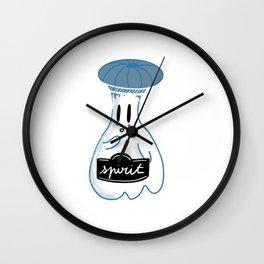 Little Ghost Confine Wall Clock