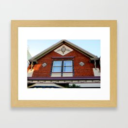 With Lace Curtains Of Course Framed Art Print