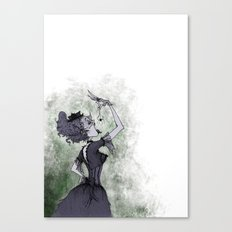 Perhaps She'll Die Canvas Print
