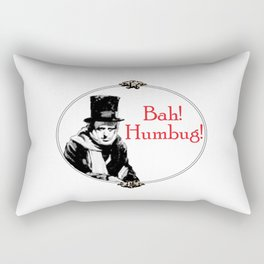 Bah! Humbug! Rectangular Pillow