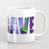 artrave Mugs featuring artRAVE Venus by ARTPOPdesigns
