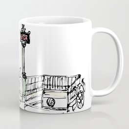 Sketches from Paris 07 Coffee Mug